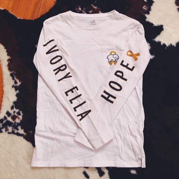 ac8643eeb0127 Ivory Ella Tops - Limited Edition Ivory Ella Long Sleeve Shirt sz S